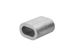 Зажим алюминиевый для троса DIN 3093