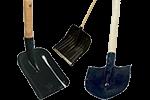 Лопаты, черенки, ломы, ледорубы