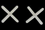 Крестики для плитки, клин, система выравнивания плитки
